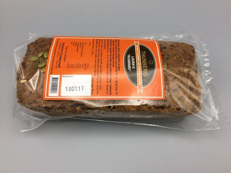 900 grams glutenfri rugbrød
