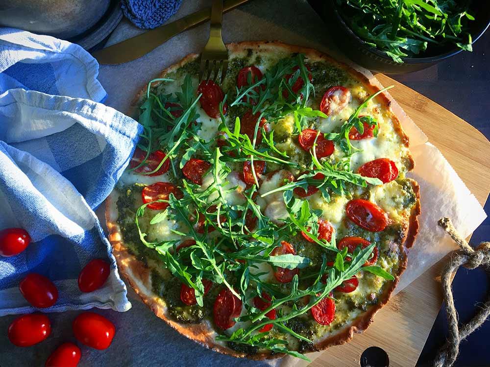 Nyhed: Alberte's Pizzabund og Luna's Skagenslapper.